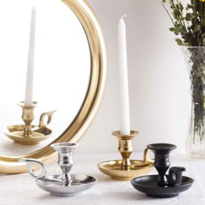 Metal candle stands Topp Brass