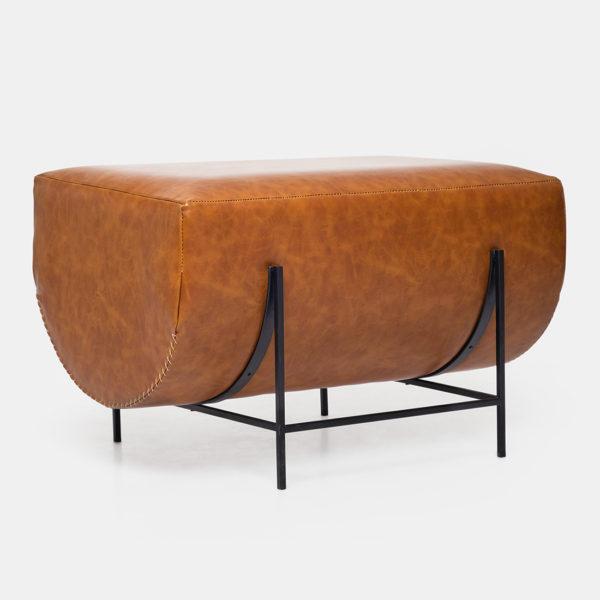Luxury Leather Ottoman for livingroom