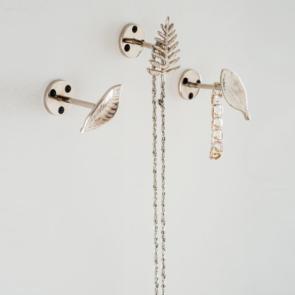 wall hooks for jewellery