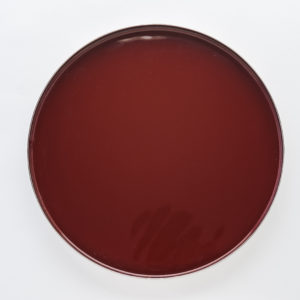 Red coffee table Platter