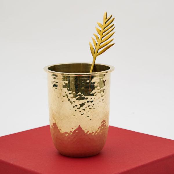 Brass glass Topp Brass