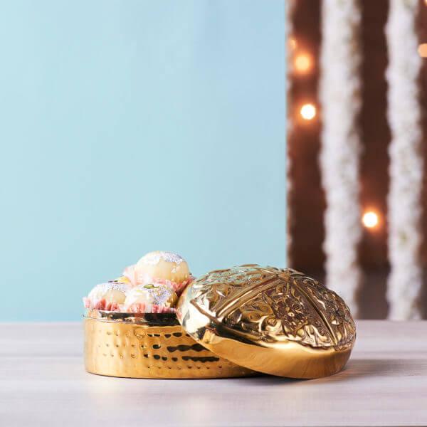 Brass mithai box online