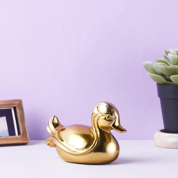 Gold Duck decor