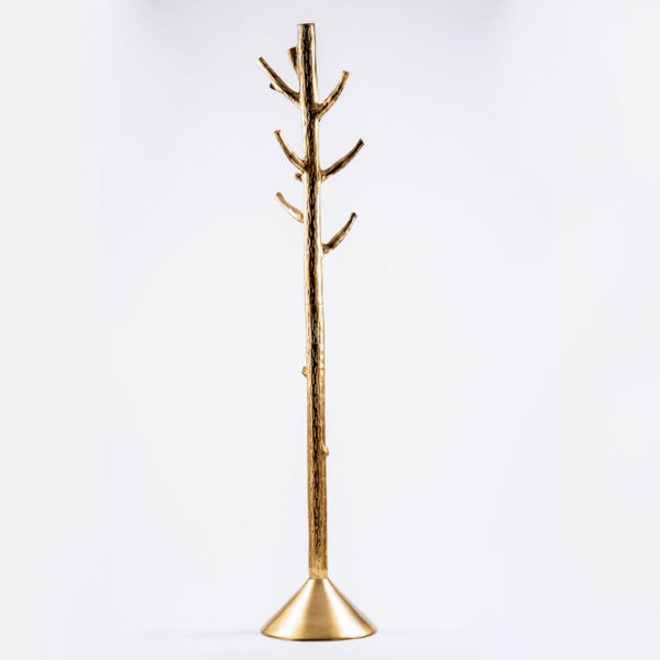 Golden Tree coat stand Topp brass