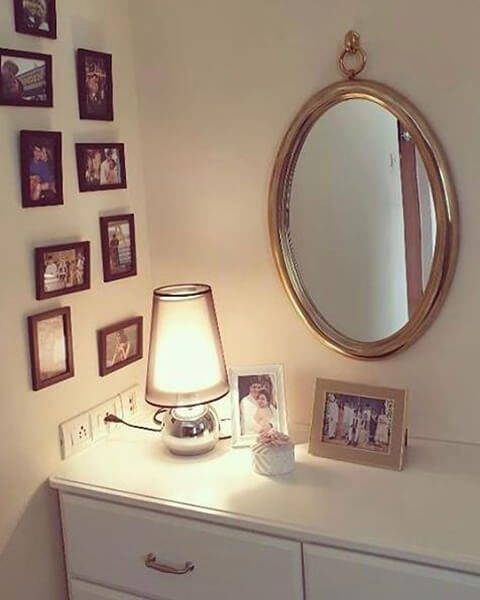 oval mirror for dressing table