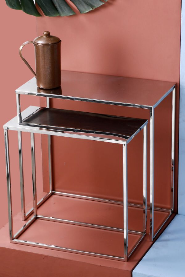 Metal Nesting Table