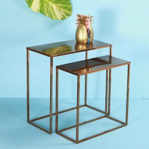 Metal Nesting Table set
