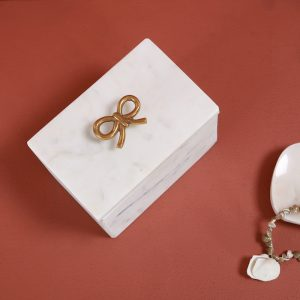 Marble box : Topp Brass