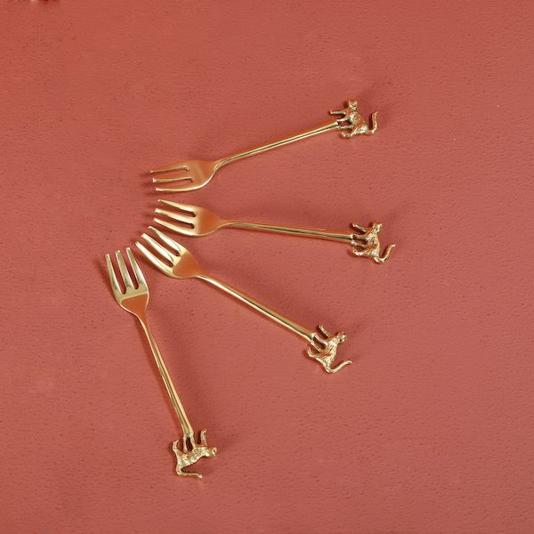 Brass forks
