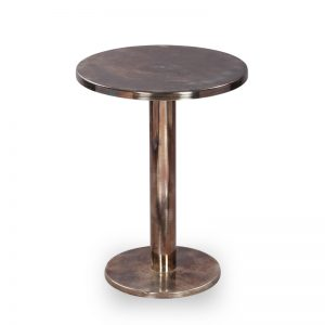 Metal side table for living room