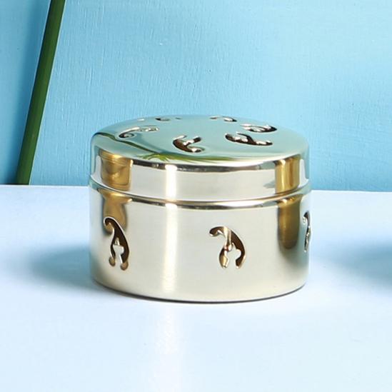 Brass t-light box