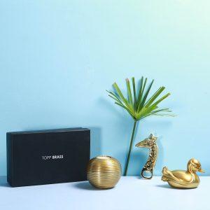 Brass gift box : Topp Brass