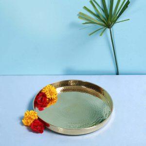 Brass thaali : Topp Brass
