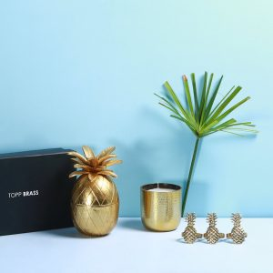 Pineapple decor Gift box