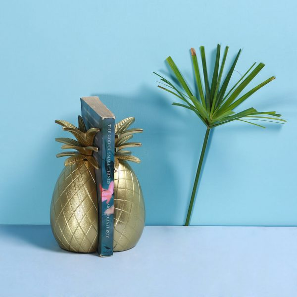 Pineapple Bookend : Topp Brass