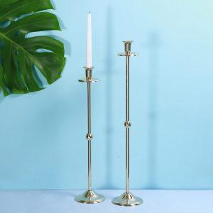 Brass candle stands : Topp Brass