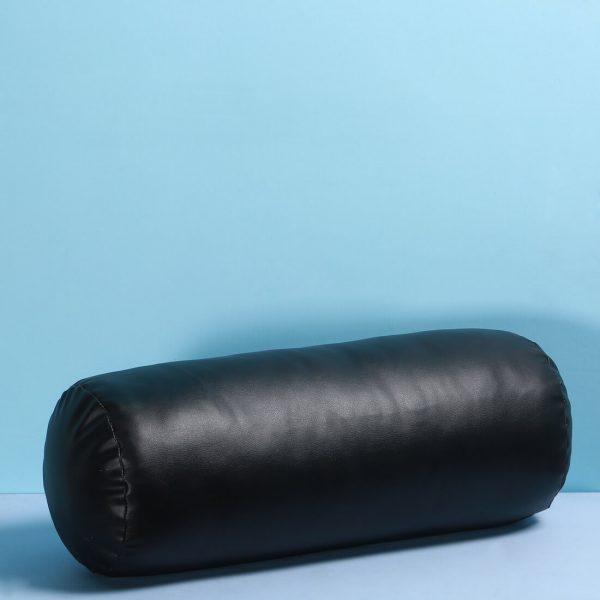 Black Leather Bolster : Topp Brass