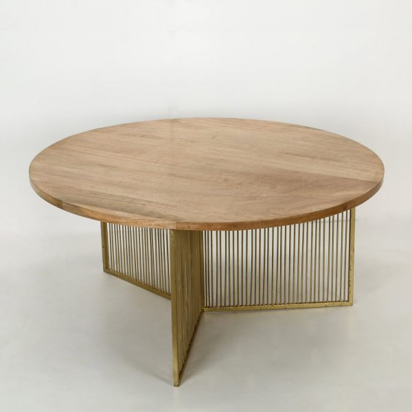 topbrass : round small coffee table for living room