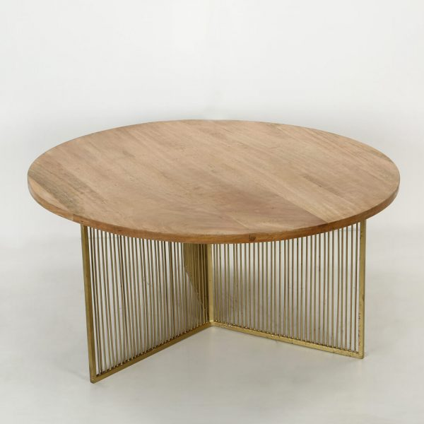 topbrass : Wood coffee table for living room
