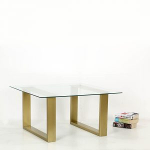 TOPPBRASS : Glass Coffee table