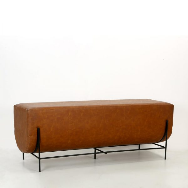 topbrass : Leather bench