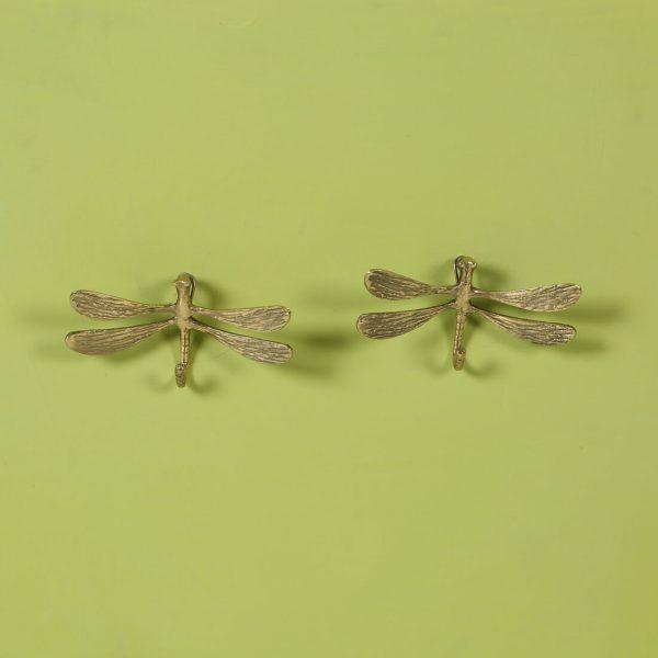 top brass : Brass clothes hooks
