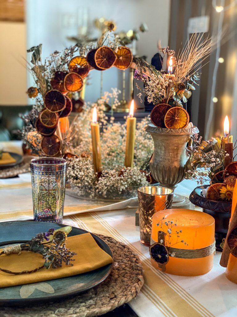 Dining Table decor : Topp Brass