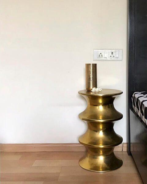 Side Table - Topp Brass
